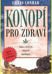 Obal knihy Konopí pro zdraví CZ