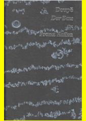 Obal knihy Doupě / Der Bau CZ