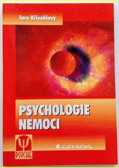 Obal knihy Psychologie nemoci CZ