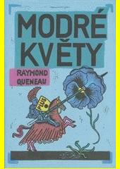 Obal knihy Modré květy CZ