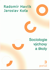 Obal knihy Sociologie výchovy a školy CZ