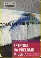 Obal knihy Estetika na přelomu milénia CZ