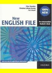 Obal knihy New English file - Pre-intermediate - Student's Book EN