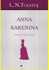 Obal knihy Anna Karenina CZ