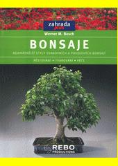 Obal knihy Bonsaje CZ