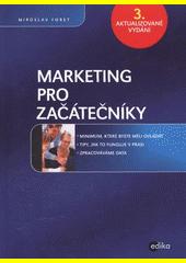 Obal knihy Marketing pro začátečníky CZ