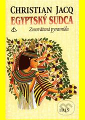 Obal knihy Egyptský sudca 1 - Znesvätená pyramída