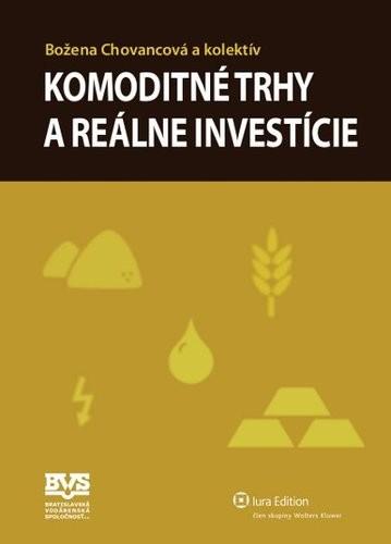 Obal knihy Komoditné trhy a reálne investície