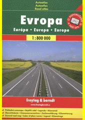 Evropa 1:800 000 CZ