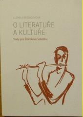 O literatuře a kultuře CZ
