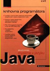 Myslíme v jazyku Java CZ