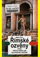 Obal knihy Římské ozvěny CZ