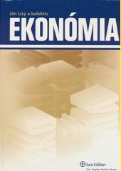 Obal knihy Ekonómia