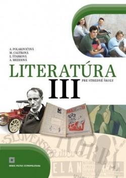 Obal knihy Literatúra III. pre stredné školy (Učebnica)