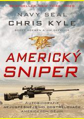 Obal knihy Americký sniper CZ