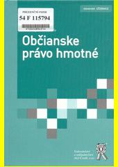 Obal knihy Občianske právo hmotné