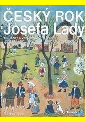 Obal knihy Český rok Jozefa Lady CZ