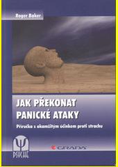 Obal knihy Jak překonat panické ataky CZ