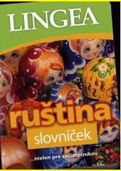 Obal knihy Slovníček ruština