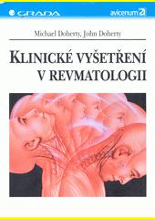 Klinické vyšetření v revmatologii CZ