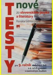 Obal knihy Nové testy zo slovenského jazyka a literatúry
