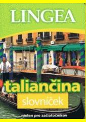 Obal knihy Taliančina slovníček