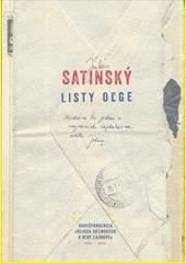 Obal knihy Listy Oľge