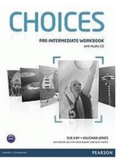 Obal knihy Choices - Pre-Intermediate: Workbook with Audio CD EN