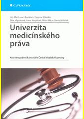 Obal knihy Univerzita medicínského práva CZ