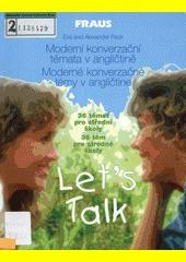 Obal knihy Let's Talk CZ