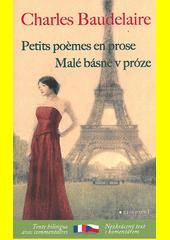 Obal knihy Malé básně v próze / Petits poemes en prose CZ