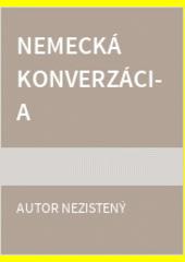Obal knihy Nemecká konverzácia