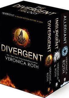 Obal knihy Divergent Trilogy EN