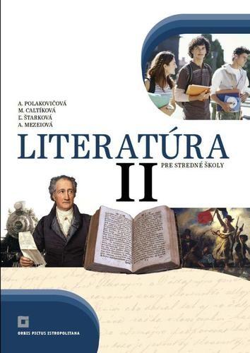 Obal knihy Literatúra II. pre stredné školy