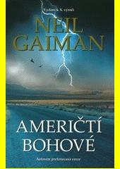 Obal knihy Američtí bohové CZ