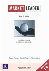 Obal knihy Market Leader - Intermediate - Practice File EN
