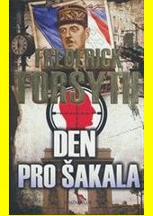 Obal knihy Den pro Šakala CZ
