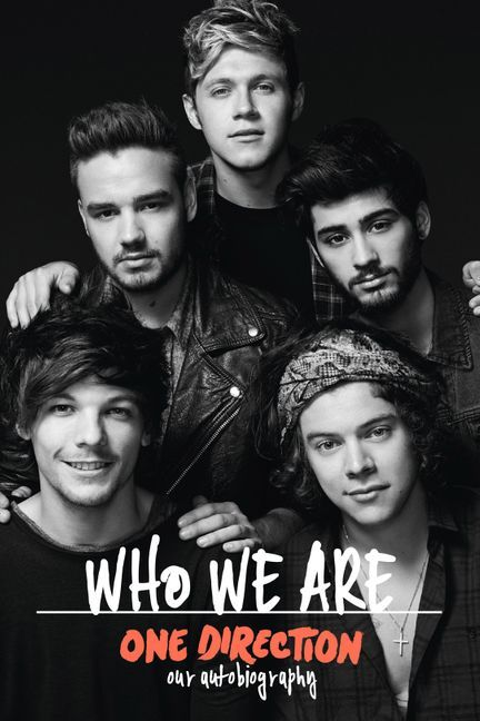 Obal knihy One Direction: Who We are EN
