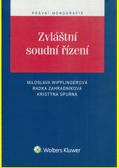 Obal knihy Zvláštní soudní řízení CZ