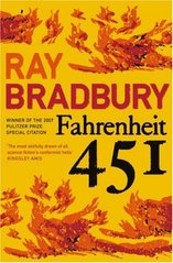 Obal knihy Fahrenheit 451 EN