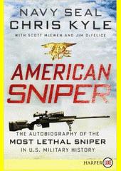 Obal knihy American Sniper EN