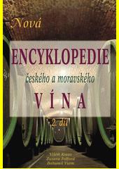 Obal knihy Nová encyklopedie českého a moravského vína CZ