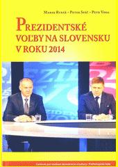 Obal knihy Prezidentské voľby na Slovensku v roku 2014