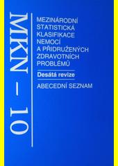 Mezinárodní statistická klasifikace nemocí a přidružených zdravotních problémů CZ