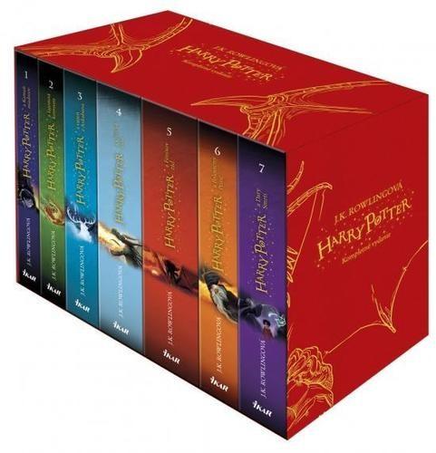 Obal knihy Harry Potter 1 - 7 (box)