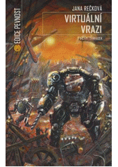 Obal knihy Virtuální vrazi CZ