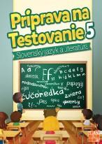 Obal knihy Príprava na testovanie 5 - Slovenský jazyk a literatúra
