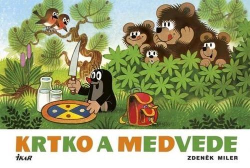 Obal knihy Krtko a medvede