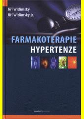 Obal knihy Farmakoterapie hypertenze CZ