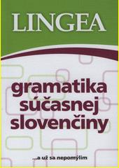 Obal knihy Gramatika súčasnej slovenčiny